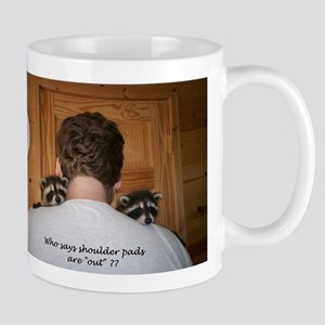 Shoulder pads Mug