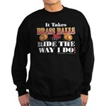 It takes Brass Balls Sweatshirt (dark)