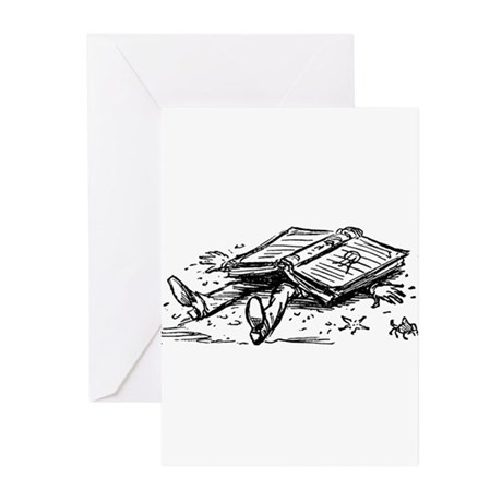 Flat Book Society Greeting Cards (Pk of 20)