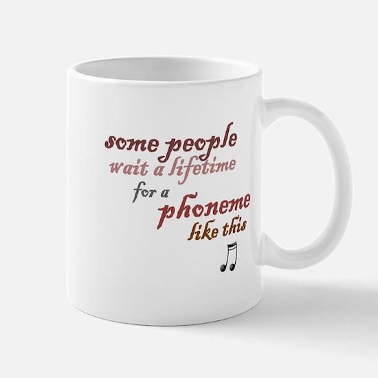 a phoneme like this Mug