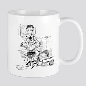 Little reader, big book Mug