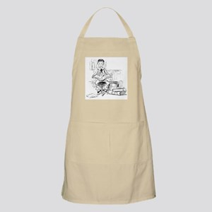 Little reader, big book BBQ Apron