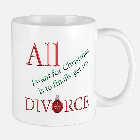 Christmas Divorce Mug