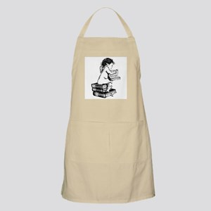 Cherub on Books BBQ Apron