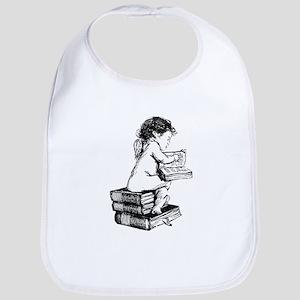 Cherub on Books Bib