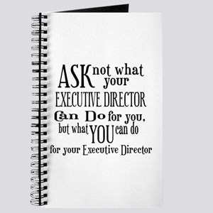 Ask Not Executive Director Journal