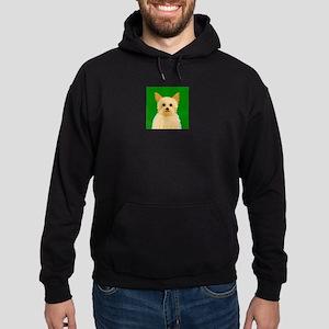 Yorkie (Puppy Cut) Hoodie (dark)