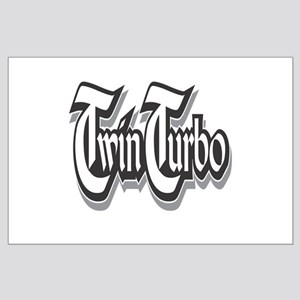Twin Turbo Large Poster