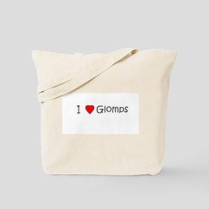 I <3 Glomps Tote Bag