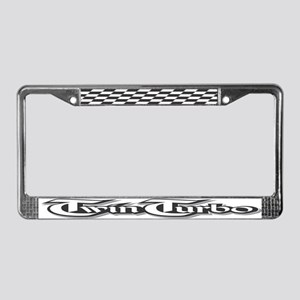Twin Turbo License Plate Frame
