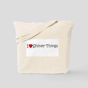I <3 Shiney Things Tote Bag