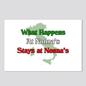What Happens at Nonna's Stays at Nonna's Postcards