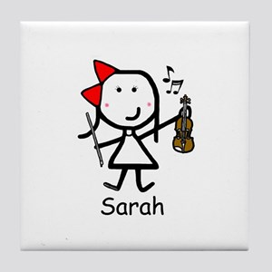 Violin - Sarah Tile Coaster