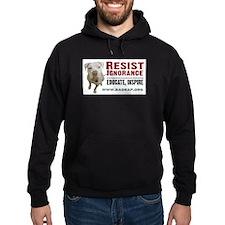 Resist Ignorance Hoodie (dark)