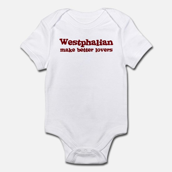Westphalian Make Better Lover Infant Bodysuit