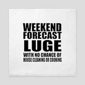 Weekend Forecast Luge Sports Designs Queen Duvet