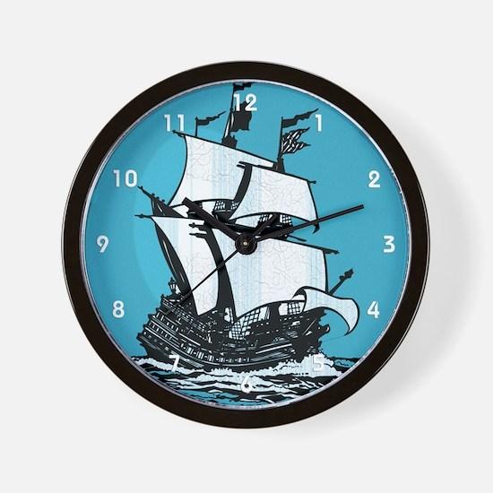 Mayflower Wall Clock