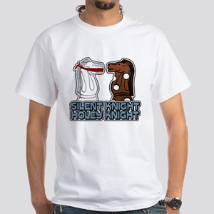 Silent Knight Holey Knight White T-Shirt