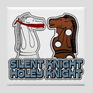 Silent Knight Holey Knight Tile Coaster