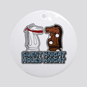 Silent Knight Holey Knight Ornament (Round)