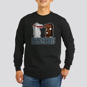 Silent Knight Holey Knight Long Sleeve Dark T-Shir