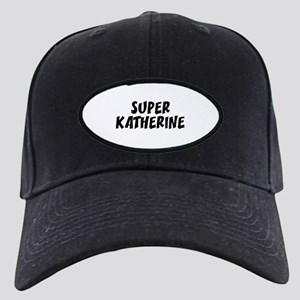 Super Katherine Black Cap