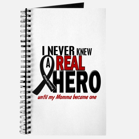 Never Knew A Hero 2 MELANOMA (Momma) Journal
