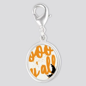 Funny Halloween Boo Y'all For Texans an Charms