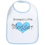 Grampa's Little Blogger Bib