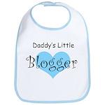 Daddy's Little Blogger Bib