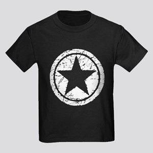 Grunge Star Kids Dark T-Shirt