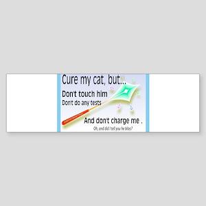 Cure My Cat Bumper Sticker (10 pk)