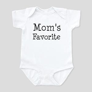 Mom is my favorite Infant Bodysuit