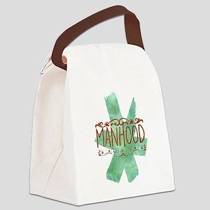Manhood Canvas Lunch Bag