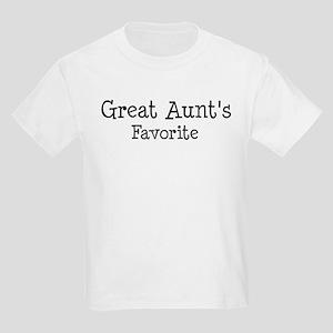 Great Aunt is my favorite Kids Light T-Shirt