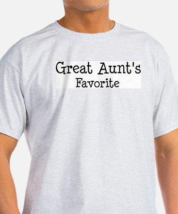 Great Aunt is my favorite T-Shirt