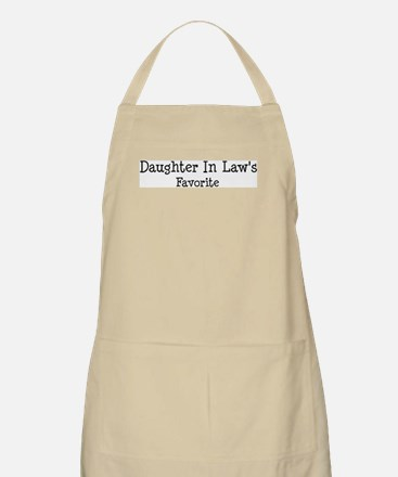 Daughter In Law is my favori BBQ Apron