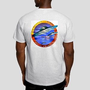 Official UFO Hunter Color Ash Grey T-Shirt