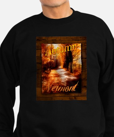Autumn in Vermont Sweatshirt (dark)