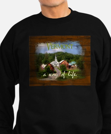 Vermont A Way of Life Sweatshirt (dark)