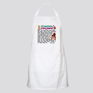 Twisted Sister Chicklist #5 BBQ Apron