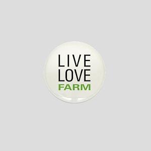 Live Love Farm Mini Button
