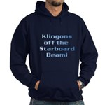 Check for Klingons with this Hoodie (dark)