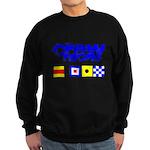 'Race 2 Win' in this Sweatshirt (dark)