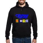 'Race 2 Win' in this Hoodie (dark)