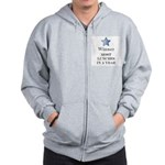 Thee Free Lunch Award - Zip Hoodie