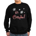 It's The Crimbo Sweatshirt (dark)