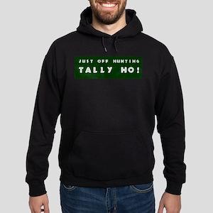 Tally Ho! Get the Hoodie (dark)