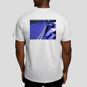 Miles 2 Go - Ash Gray TShirt