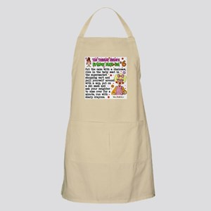 Twisted Sister Chicklist #6 BBQ Apron